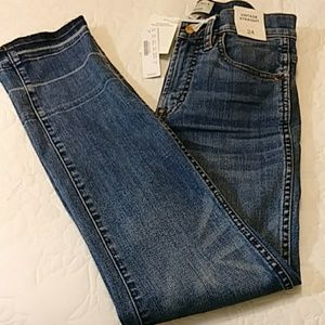 J Crew Vintage Straight Jeans Sz 24 NWT